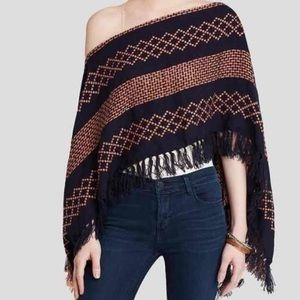 Free people new with tags knit shawl
